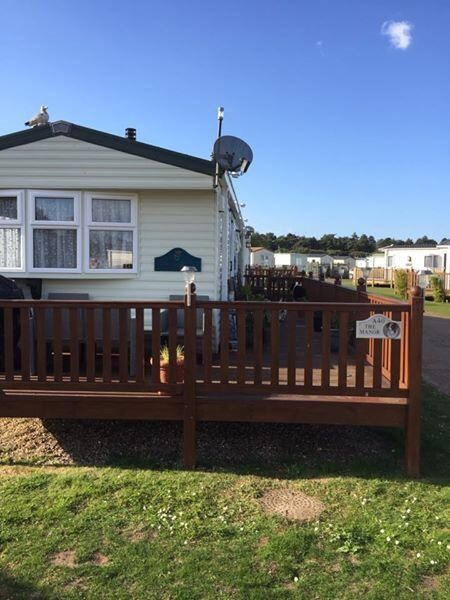 6 Berth Static Caravan for sale sited