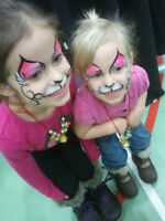 FUN face painting with Mai