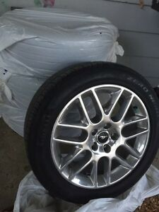 Factory Mustang Wheels And Tires