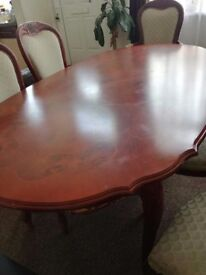 Big Table with 6 seats