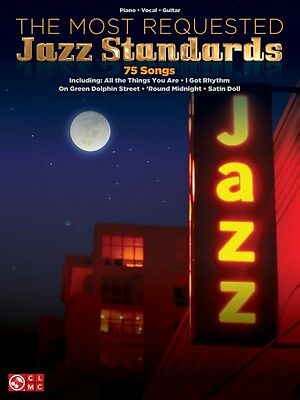 The Most Requested Jazz Standards Sheet Music Piano Vocal Guitar Songb 000102988