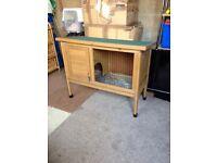 Guinea pig rabbit hutch home