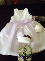 Flower Girl Dress and Accessories