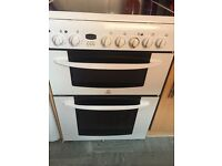 Indesit Double Oven with grill
