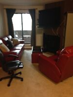 1 BR furnished for rent - available now