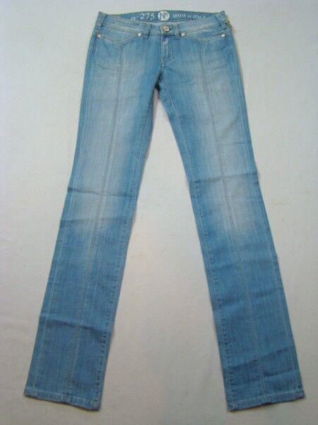NFY 275 SKINNY JEANS NUOVO 190€ pantalone del progettista per donne! denim pants
