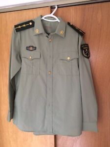 Authentic Chinese Military Uniform