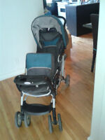 POUSSETTE DOUBLE A VENDRE/ DOUBLE STROLLER TO SELL