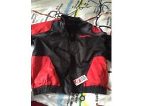 Brand new snap on racing jacket - large
