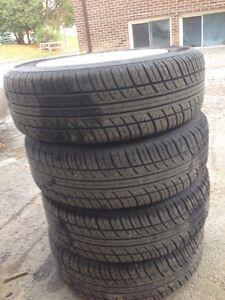 Like new tires  185/65r14  Peterborough Peterborough Area image 1