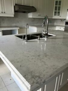 QUARTZ COUNTERTOPS ✰ ALL YEAR SALE ✰ FREE VANITY 647.483.6078