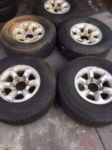 """Set of 15""""wheels 6x139.7pcd for 4x4 East Victoria Park Victoria Park Area Preview"""