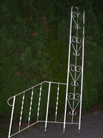 WROUGHT IRON HANDRAILING FOR OUTSIDE STEPS