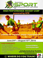 High Performance Hockey Camp powered by NTR and ISPW