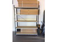 5 TIER BOLTLESS SHELVING UNIT for garage/storage room/office