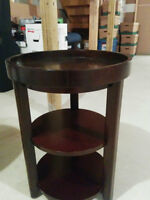 End table (Price is per table, $20.00 ea.)
