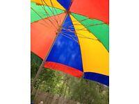 7ft parasol garden umbrella