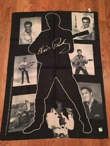 Elvis Presley Fabric Wall Flag Poster - New