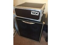 Bass amp, head and cab w/flight case