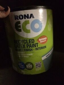 1 gallon Rona recycled paint