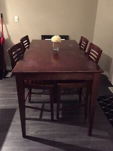 Cherry wood kitchen table for sale