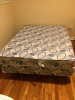 Queen size bed set - moving sale