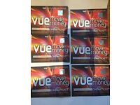 Vue Cinema tickets x6 (excluding london)