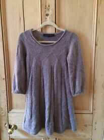 Wool/Alpaca Blend French Connection Tunic Dress Size 10
