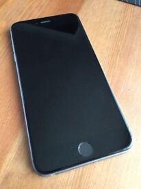 apple iphone 6s plus + black space grey vodafone unlocked any Ee o2 orange 3 Giff gaff open