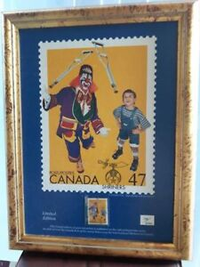 Shriners Canada Post Stamp Poster