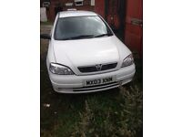 Vauxhall Astra ex police van still chipped 1.7 petrol o3 plate offers