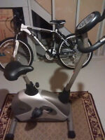 Fully Featured Good Condition Mobile Exercise Bike