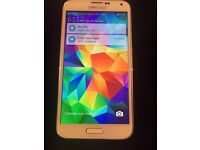 Samsung Galaxy s5(16gb) unlocked (mint)white