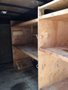 16 foot enclosed trailer with shelves Edmonton Edmonton Area image 5