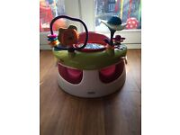 Mamas and papas snug seat with activity tray