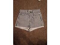 Ladies top shop shorts