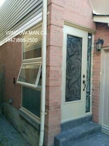 Entrance Side Door Front Window  Save on Heat and Air