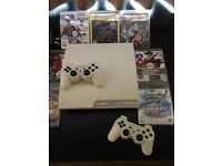 Ps3 - white - 300 gb