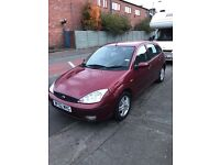 For sale 2002 ford focus 1.6 petrol