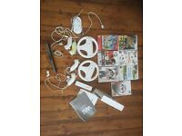 Wii for sale with games