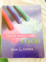 Those Who Can, Teach  13th Edition