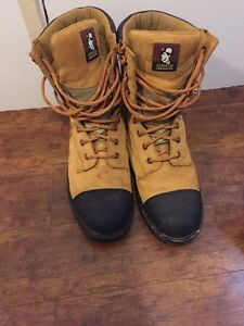 Greb - Job Rated steel toe work boots, Size 11
