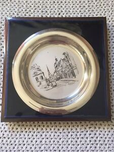 A.Y. Jackson Collector Plate Solid Sterling Silver 1973