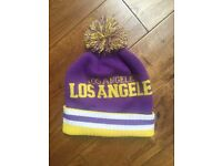 Los Angeles Bobble Hat. New without tags.