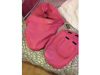 Pink oyster carrycot colour pack