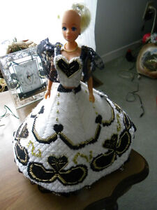 FOR SALE:  Barbie w/Plastic Canvas ball dress(Osgoode villiage)