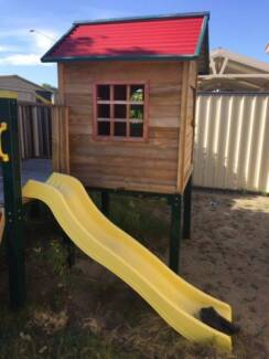 Swing slide climb Shangri La multi kids children play cubby house