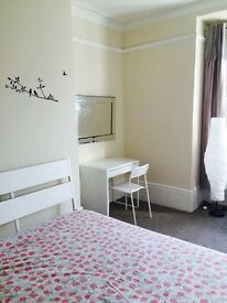 Double room near town for £340 (all bills inclusive)