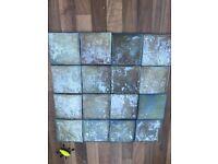 Italian tiles 9.5 x 9.5
