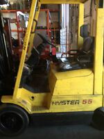 CHARIOT ELEVATEUR  FORT LIFT  HYSTER 5500L